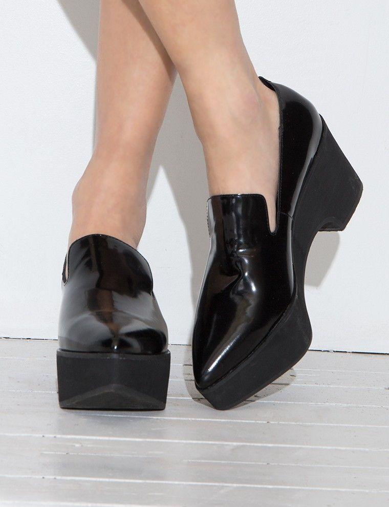 Jeffrey Campbell Platform Shoes - Black