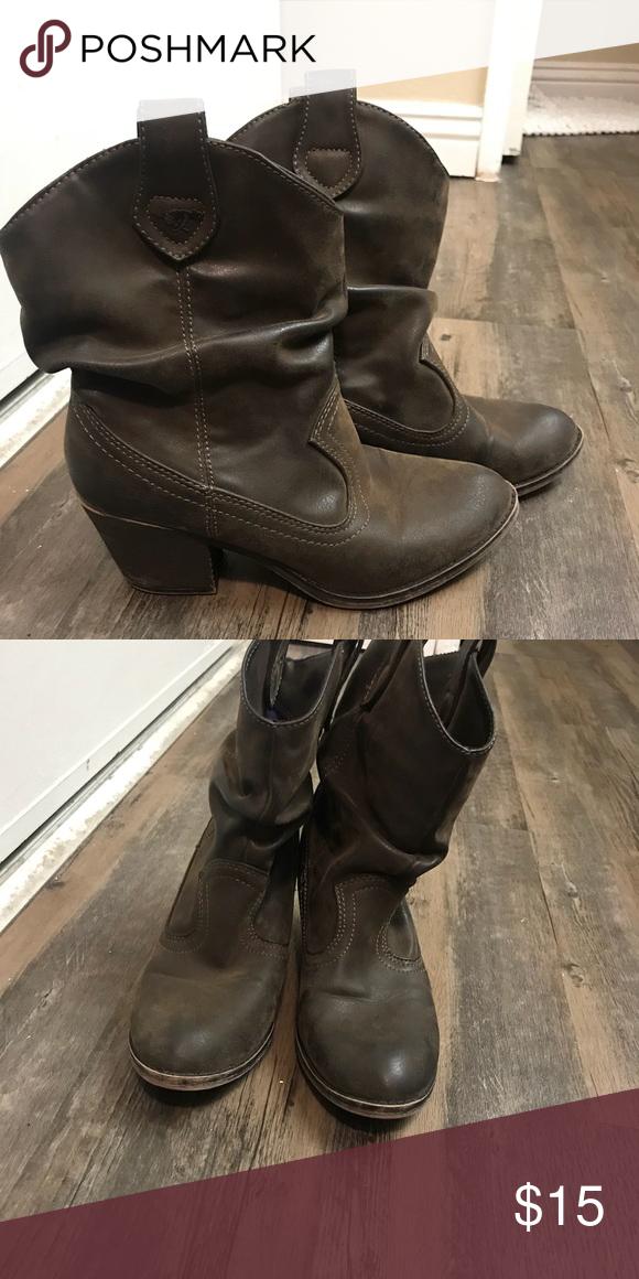 db1ba16705b Ankle cowboy boots Size 7.5 Super cute ankle cowboys boots Super ...