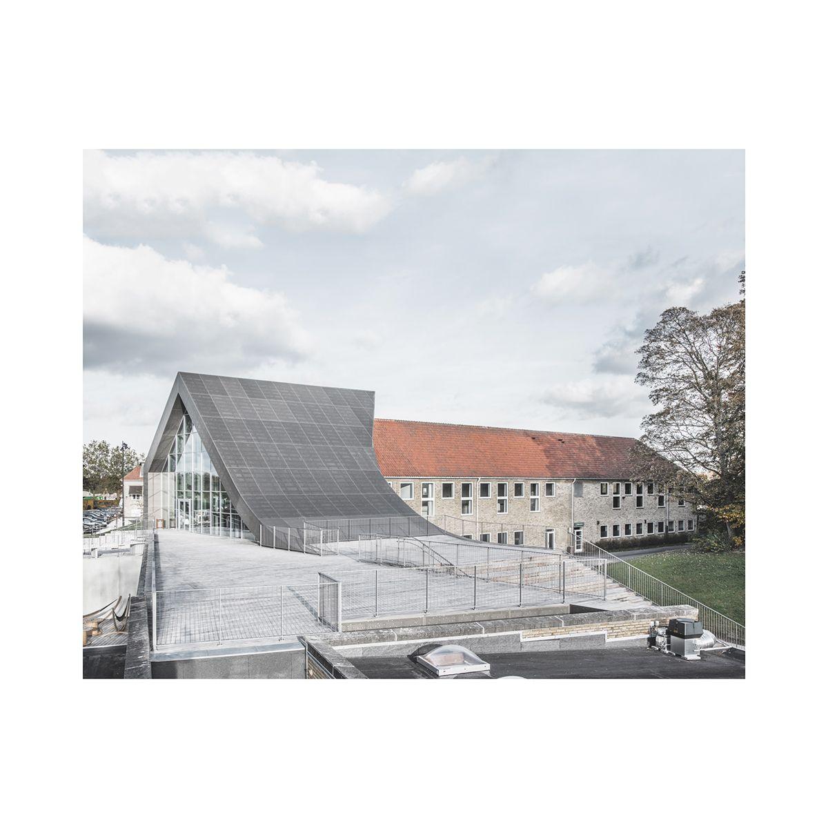 Culture Center Mariehøjby Sophus Søbye arkitekter + WE architectureHolte Municipality, Denmark