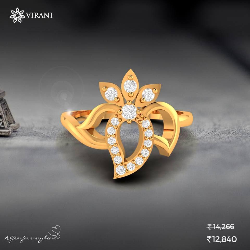 Diana Paradise Diamond Ring  Shop Now : https://goo.gl/WR2v6Z (Only at: Rs. 12,840)  www.viranigems.com #Virani #Diamond #jewellery #lovefromvirani #jewelry #jewels #jewel #fashion #gems #gem #gemstone #trendy #accessories #beautiful #style #fashionista #accessory #stylish