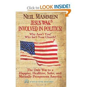 Read this book! Why Christians SHOULD be involved in politics!
