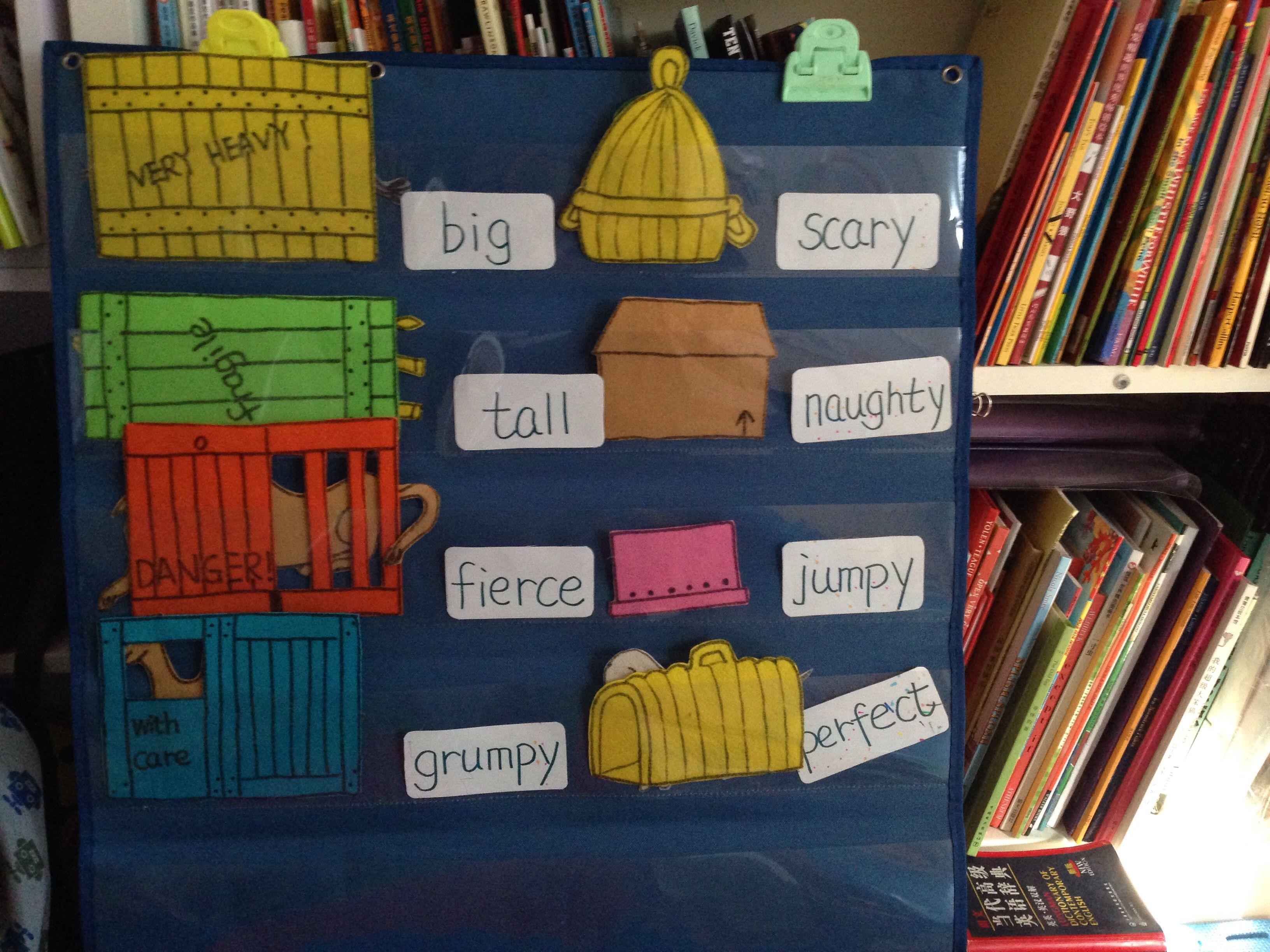 Dear Zoo Flannel Board Picture