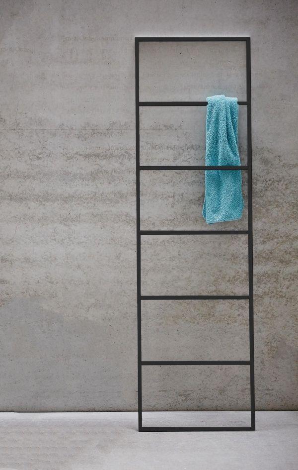 Jan Kurtz Hip Handtuchleiter Metall Schwarz Handtuchhalter Wohn Und Designobjekte Badezimmer Artikel Handtuchleiter Handtuchhalter Handtuchstander Holz