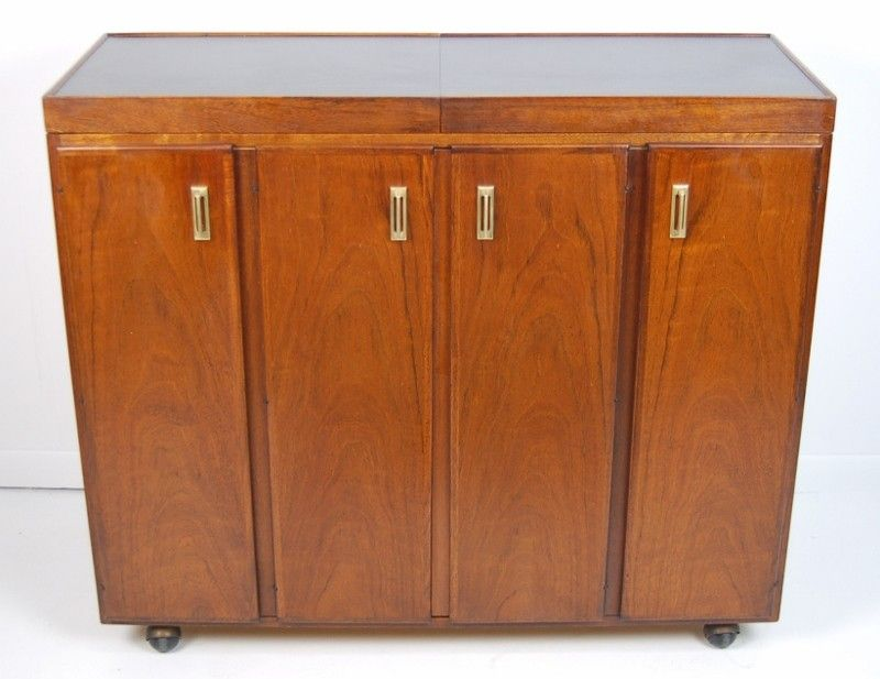 MCM Rolling Bar Server Cabinet $495   Niles Http://furnishly.com/