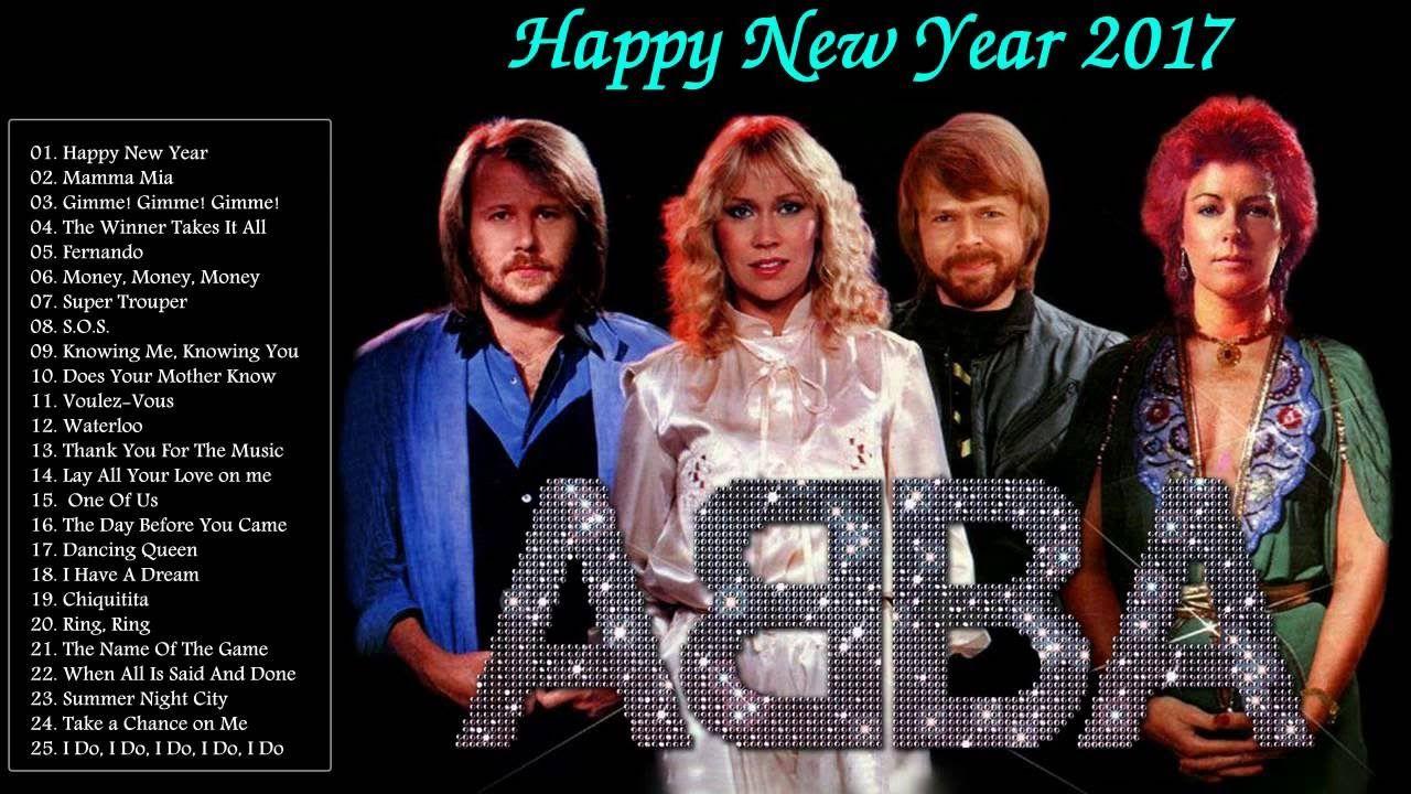 """ Happy New Year 2017 "" ABBA Greatest Hits Full Album"