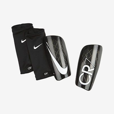 Nike Cr7 Mercurial Lite Shinguard Football Soccer 2015 Black White Girls Soccer Cleats Soccer Accessories Soccer Shin Guards