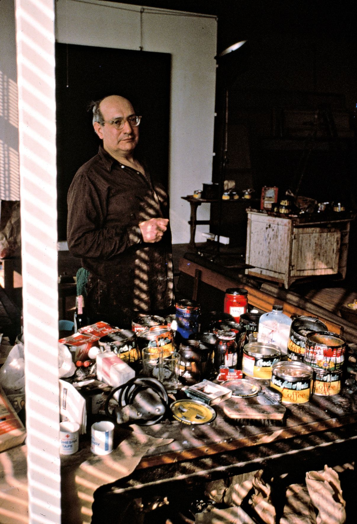Rothko in his Studio, New York, 1964  by Alexander Liberman