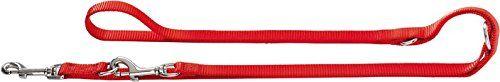 Aus der Kategorie Leinen  gibt es, zum Preis von EUR 11,46  Nylon, genäht, Metallteile vernickelt, 3-fache Verstellmöglichkeit, Farbe: rot