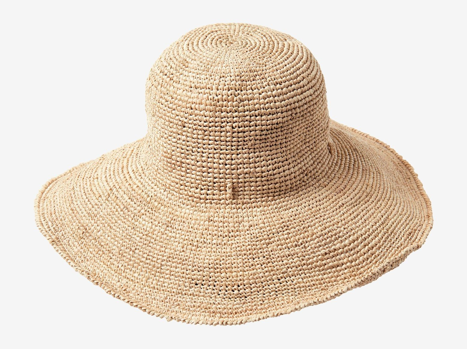 47bbd5b8a BOUNDLESS   Chic, floppy, wide brimmed straw hat. Can be worn with ...