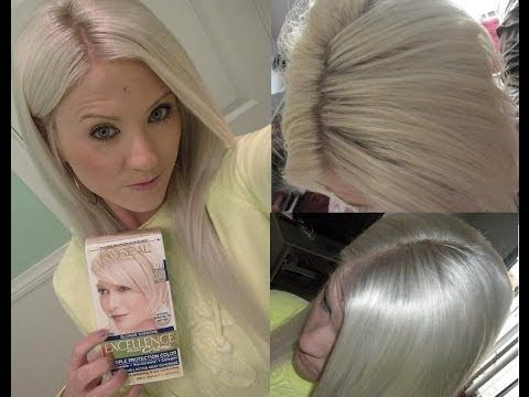 Loreal Excellence 01 High Lift Extra Light Ash Blonde Review