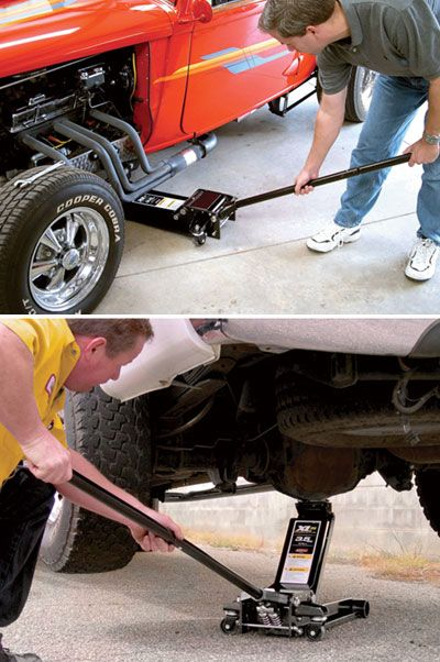 Arcan 3 1/2-Ton Low-Profile Professional Service Floor Jack — Model