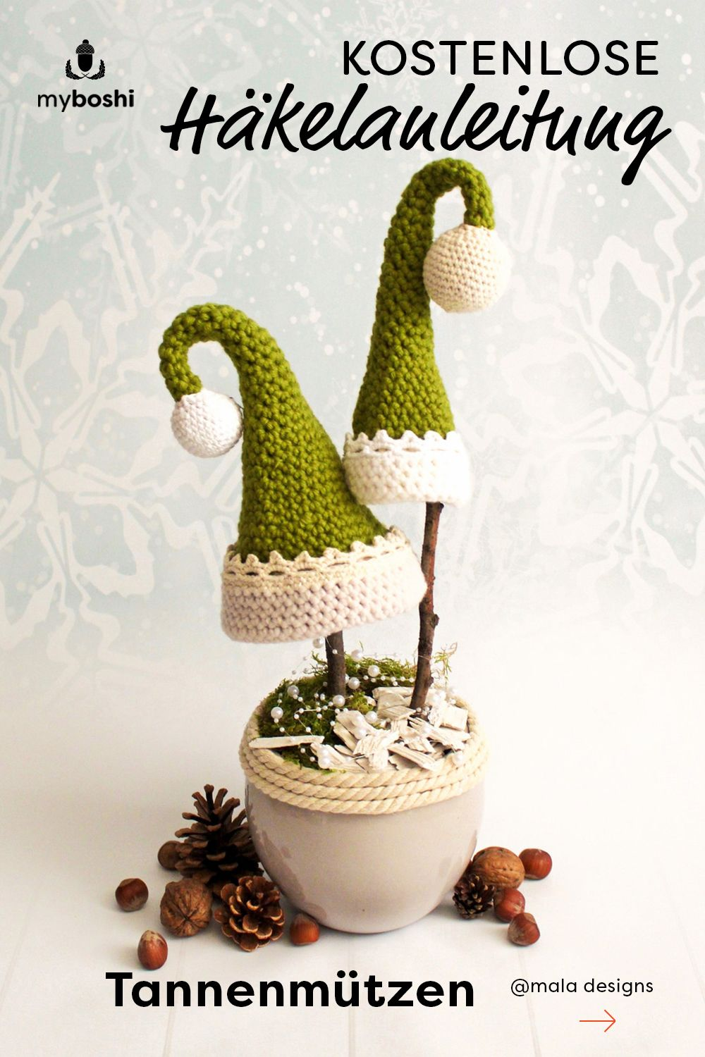 Photo of Crochet for Christmas – free pattern