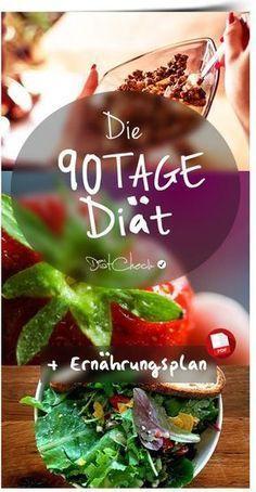 90 Tage Diät – Ernährungsplan, Erfahrungen und Bewertung