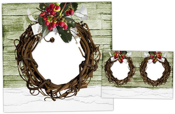 Free Christmas Cards and Matching Holiday Gift Tags! Scrapbook - free xmas card template