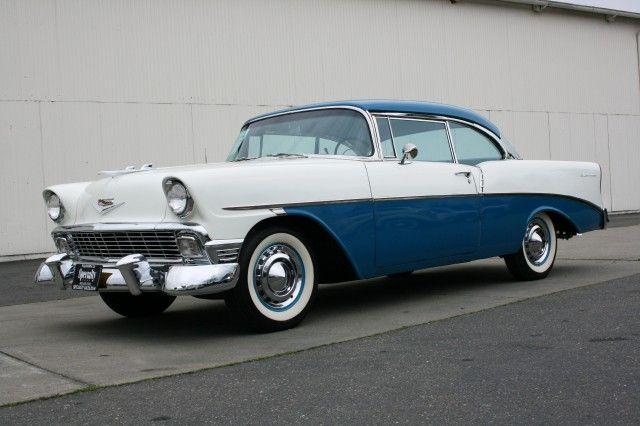 1956 Chevrolet 210 India Ivory Twilight Turquoise Chevrolet