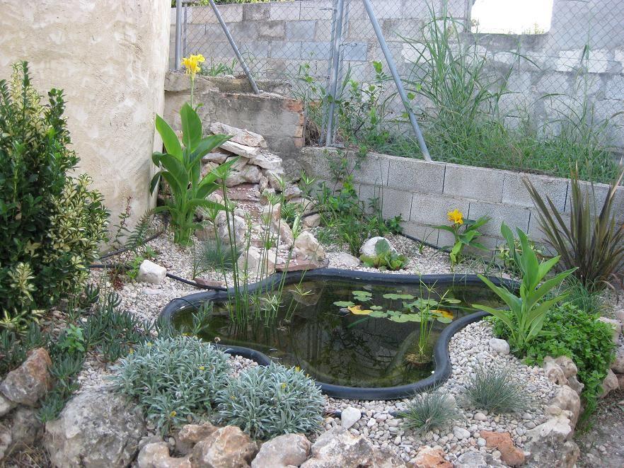 Lagunas artificiales para jardin c mo hacer un estanque for Jardines artificiales