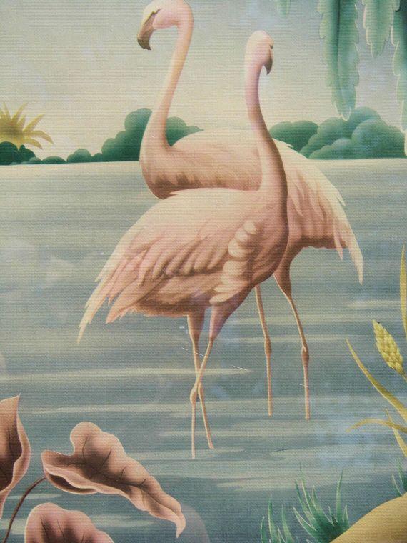 Turner Print, Vintage Turner, Turner Flamingos Print, Art ...
