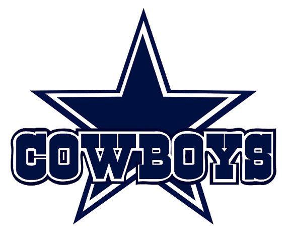 Custom Cowboy Star Svg File Scrapbook Svg Cowboys Clip Art Dallas Cowboys