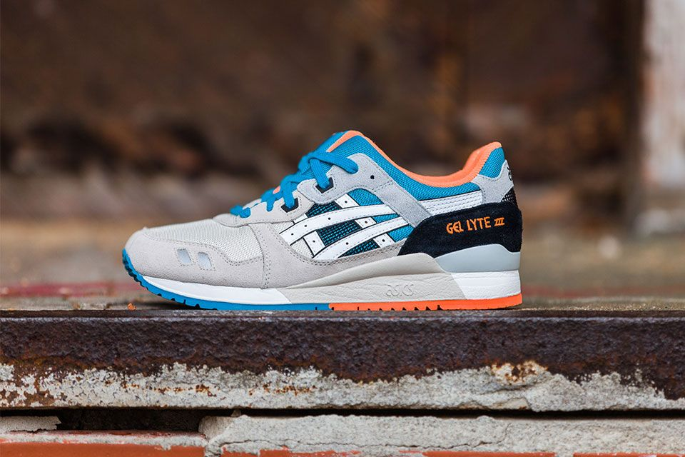 ASICS Gel Lyte III and Gel Saga