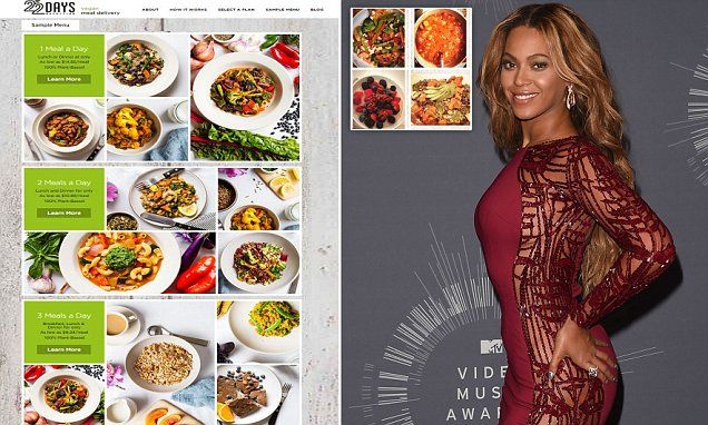 Beyonce Launches 22 Day Vegan Meal Delivery Service With Her Trainer Vegan Meal Delivery Beyonce Vegan Diet Vegan Meal Plans