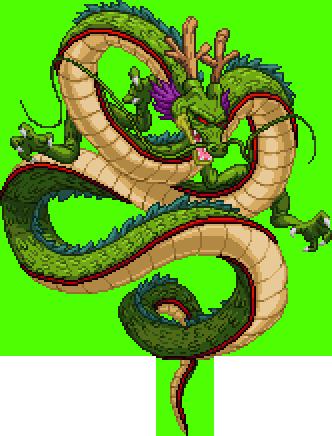 Pixel Shenron Https Balthazar321 Deviantart Com Dragon Ball Super Wallpapers Dragon Illustration Dragon Ball Super