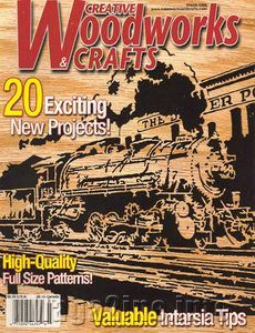 Free Magazines Download In PDF  Creative Woodworks & Crafts (March 2006)