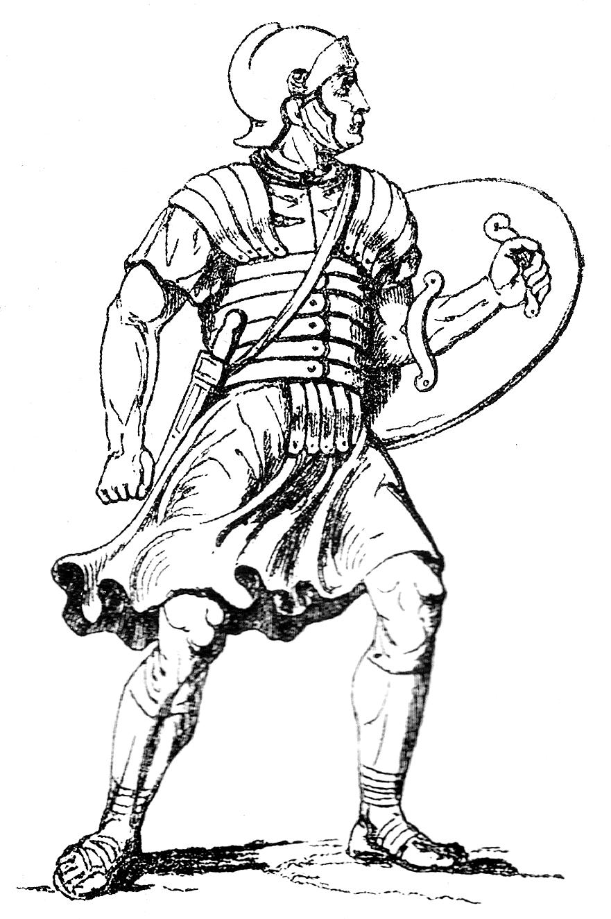 Ausmalbilder Römer