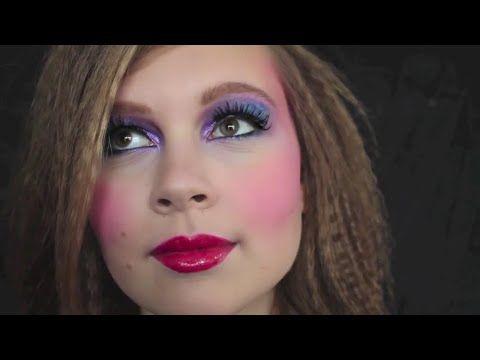 80er Jahre Make Up 80er Jahre Makeup Schminke 80s Makeup