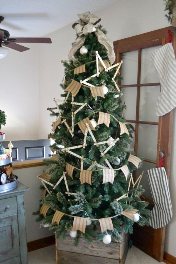 Weihnachtsdekoration zum basteln