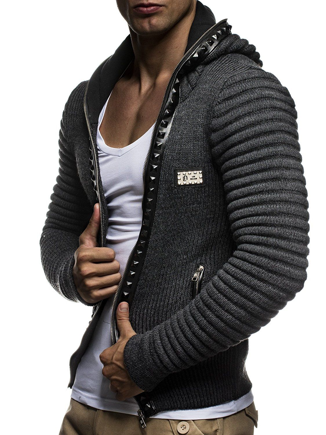 These Leif Nelson knitted Cardigans and pullovers are so cool ... 67d2249435