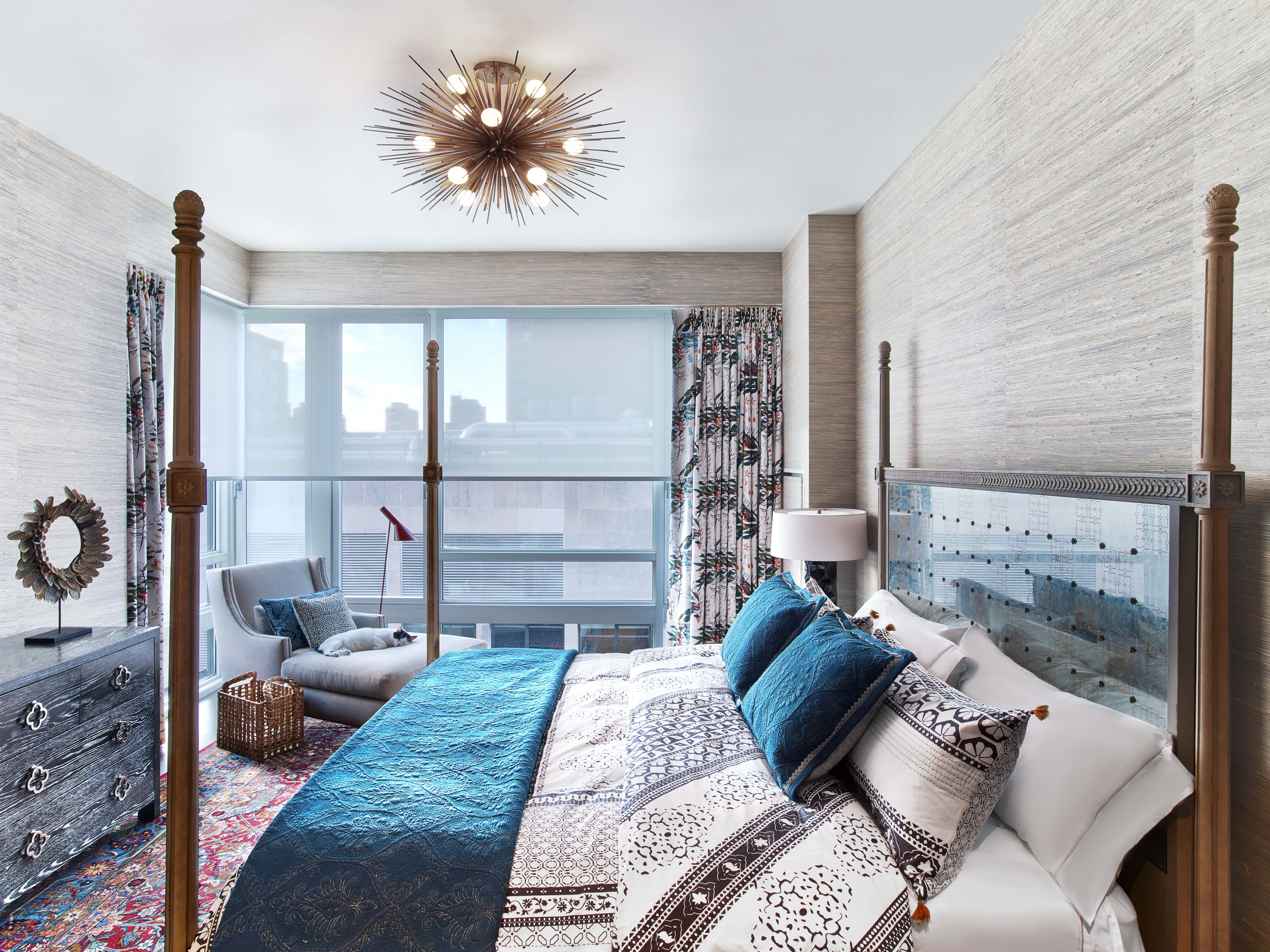 Exceptionnel Kati Curtis Design Provides Chelsea Interior Design Services And Transforms  A Penthouse For Clients With A Free Spirit And A Love For Travel.