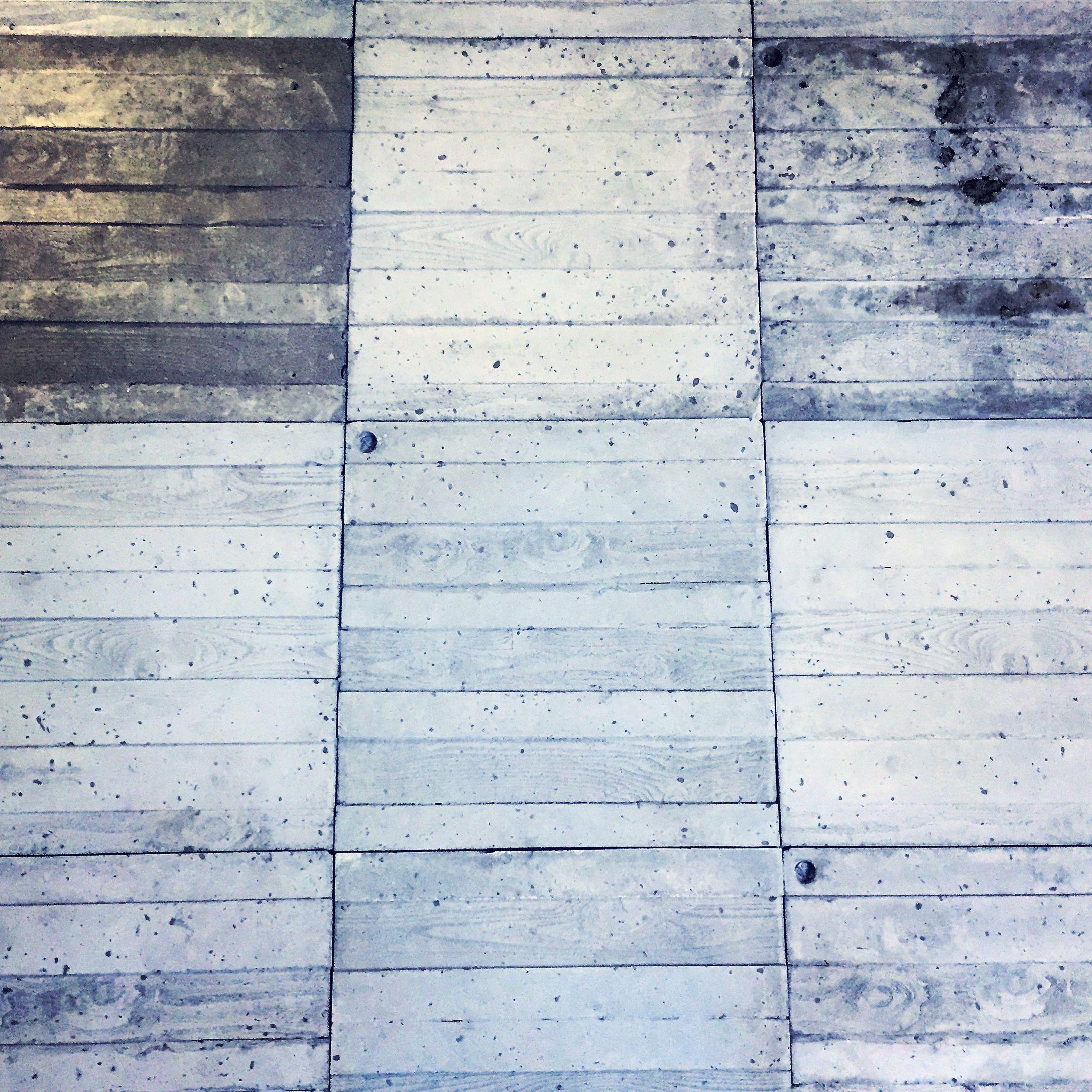 Board formed concrete tile wall | Bathroom | Pinterest | Concrete ...