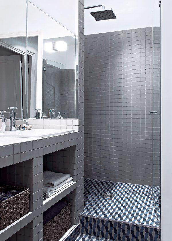 Superbe Marie Claire Maison Salle De Bain #2: Rénovation · Un Appartement Haussmannien Décloisonné - Marie Claire Maison