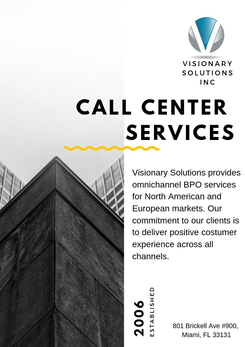 Visionary Solutions Provides Omnichannel Bpo Services For North
