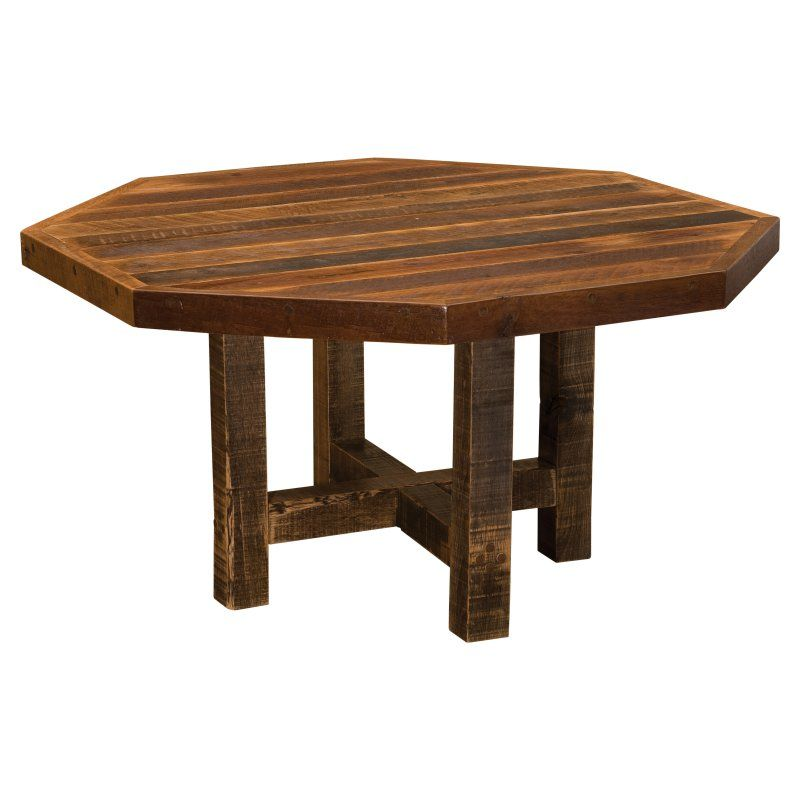 Fireside Lodge Barnwood Counter Height Dining Table - B150
