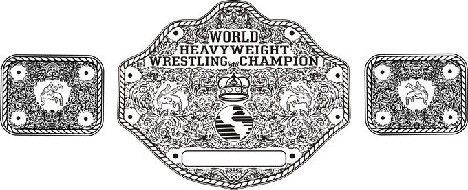 picture about Printable Wrestling Belt Template known as Wrestling belt line artwork assistance pressing !! - CorelDRAW X7