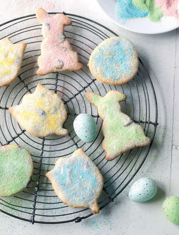 Easter biscuits recipe great british easter biscuits and the these pretty delicate easter biscuits from the great british bake off learn to bake negle Images