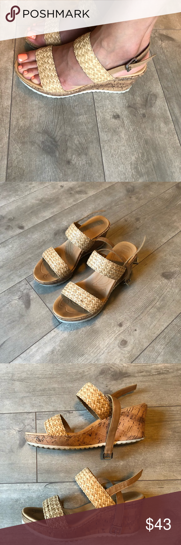 311af143553 B.О.C Remi wedge sandals Very comfortable sandals for summer