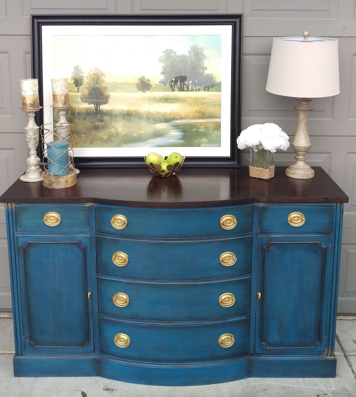 Gallery Blue painted furniture, Chalk paint furniture