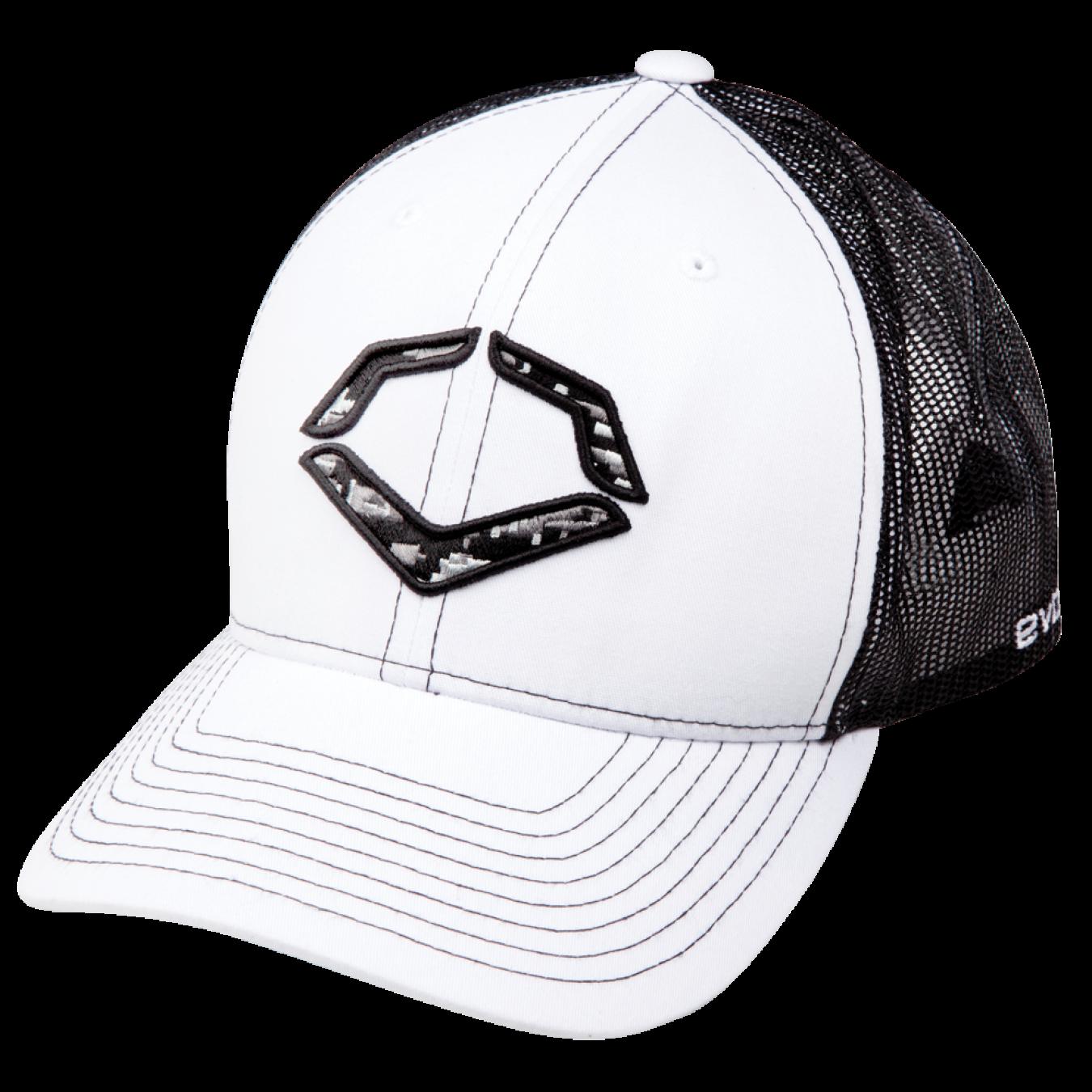 competitive price save off pre order EvoShield White Grey Black DigiCamo Logo Hat   The essentials ...
