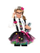 Hello Kitty Nerd Costume Kit For Teen Girls Party City Awesome