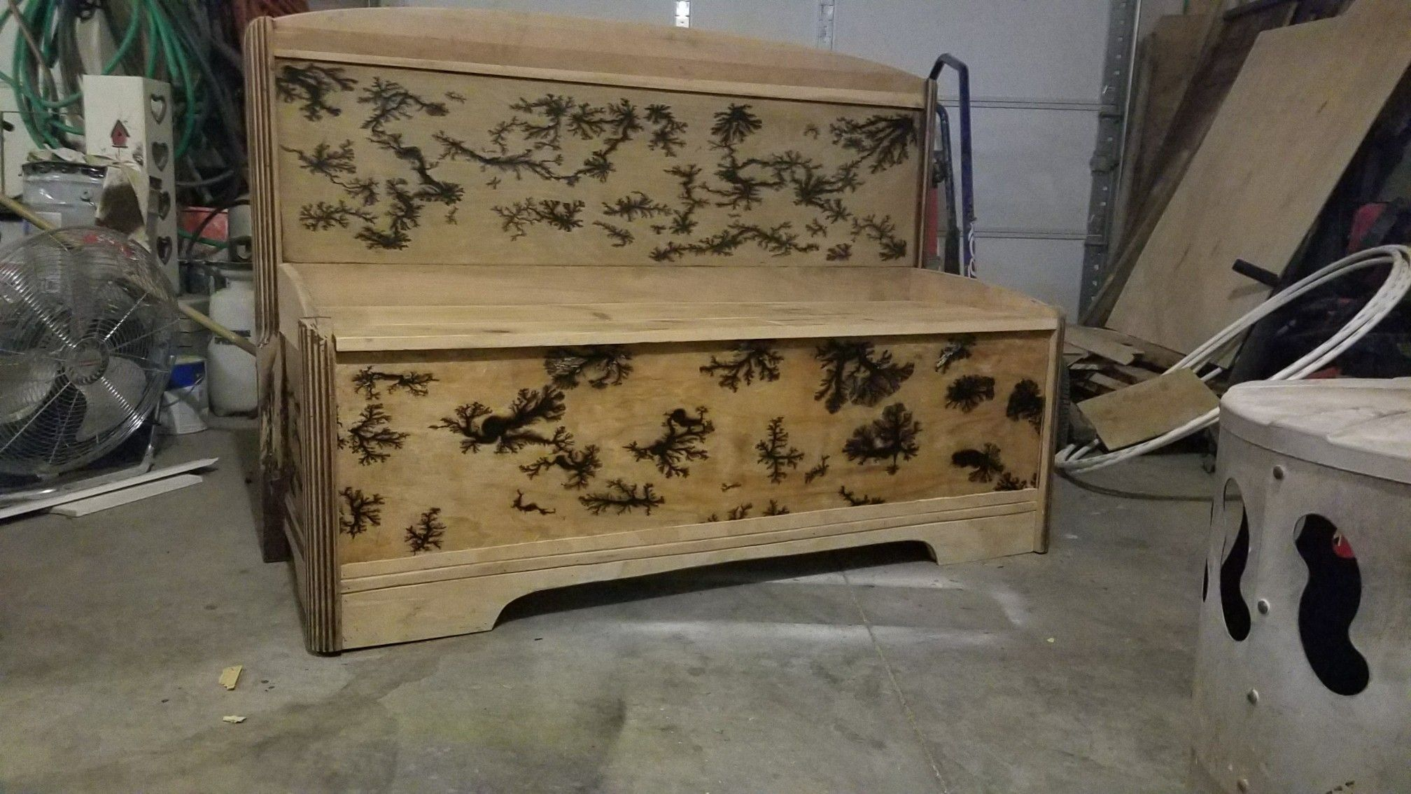 Headboard bench Diy dresser, Headboard bench, Decor
