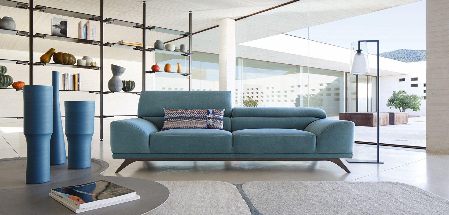 Grand Canape 3 Places Azur Roche Bobois Decoracion De Elle Decoracion De Interiores Sofa Moderno