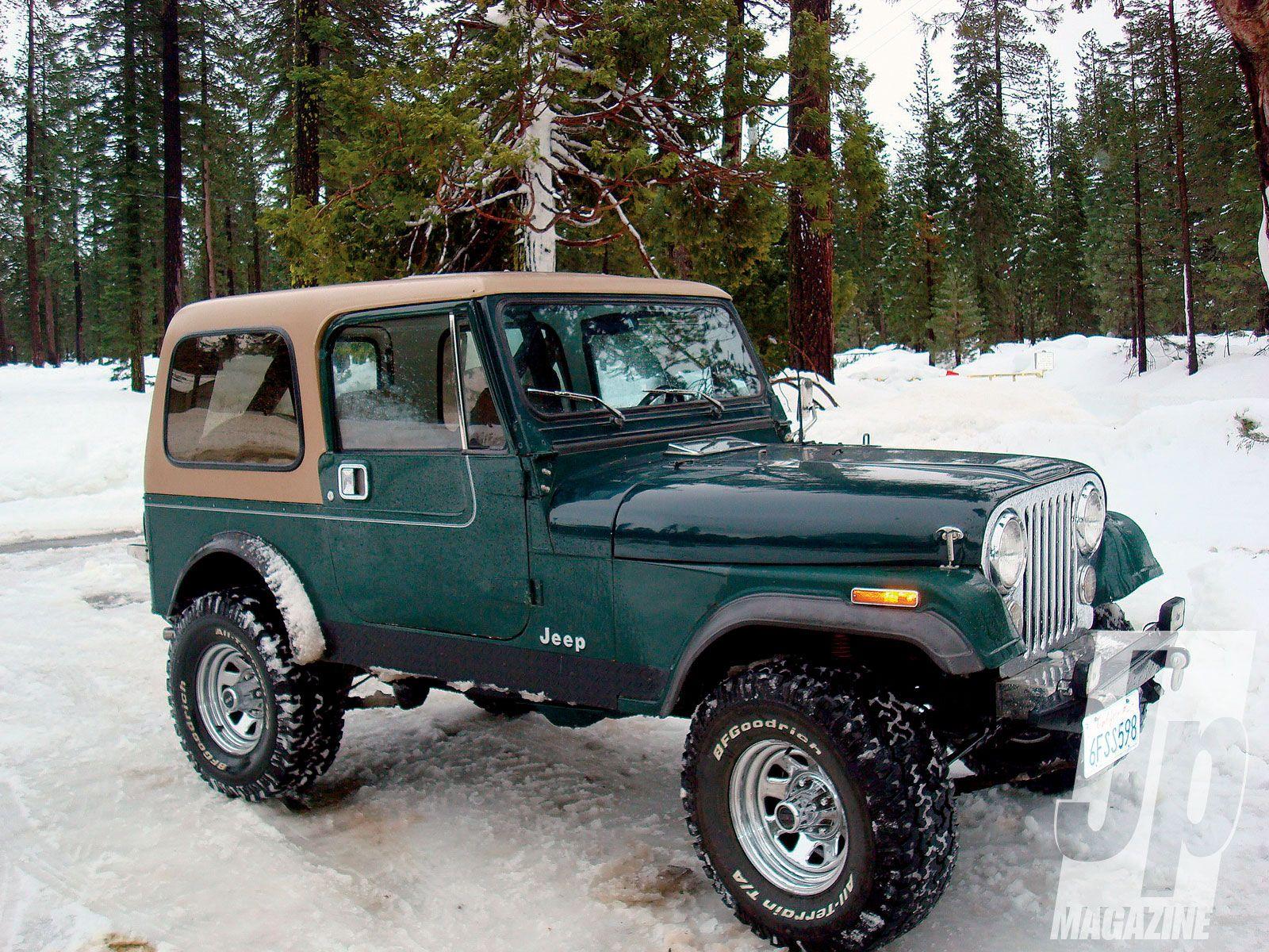 86 jeep cj hunter green tan hardtop [ 1600 x 1200 Pixel ]