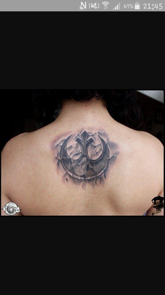 0b94612190568 Rebellion crest Rebel Alliance Tattoo, Rebel Tattoo, Great Tattoos, New  Tattoos, Piercing