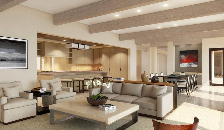 Kitchen And Living Room Combined Colors With Images Living