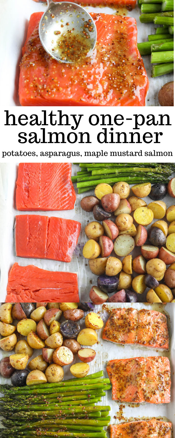 Easy One Pan Salmon Dinner   Erin Lives Whole