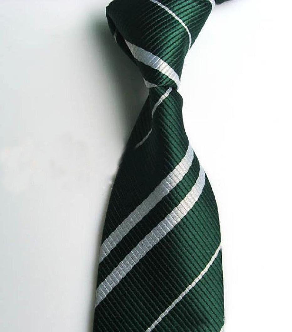 Harry Potter Tie Ravenclaw Hufflepuff Gryffindor Slytherin Costume Necktie US