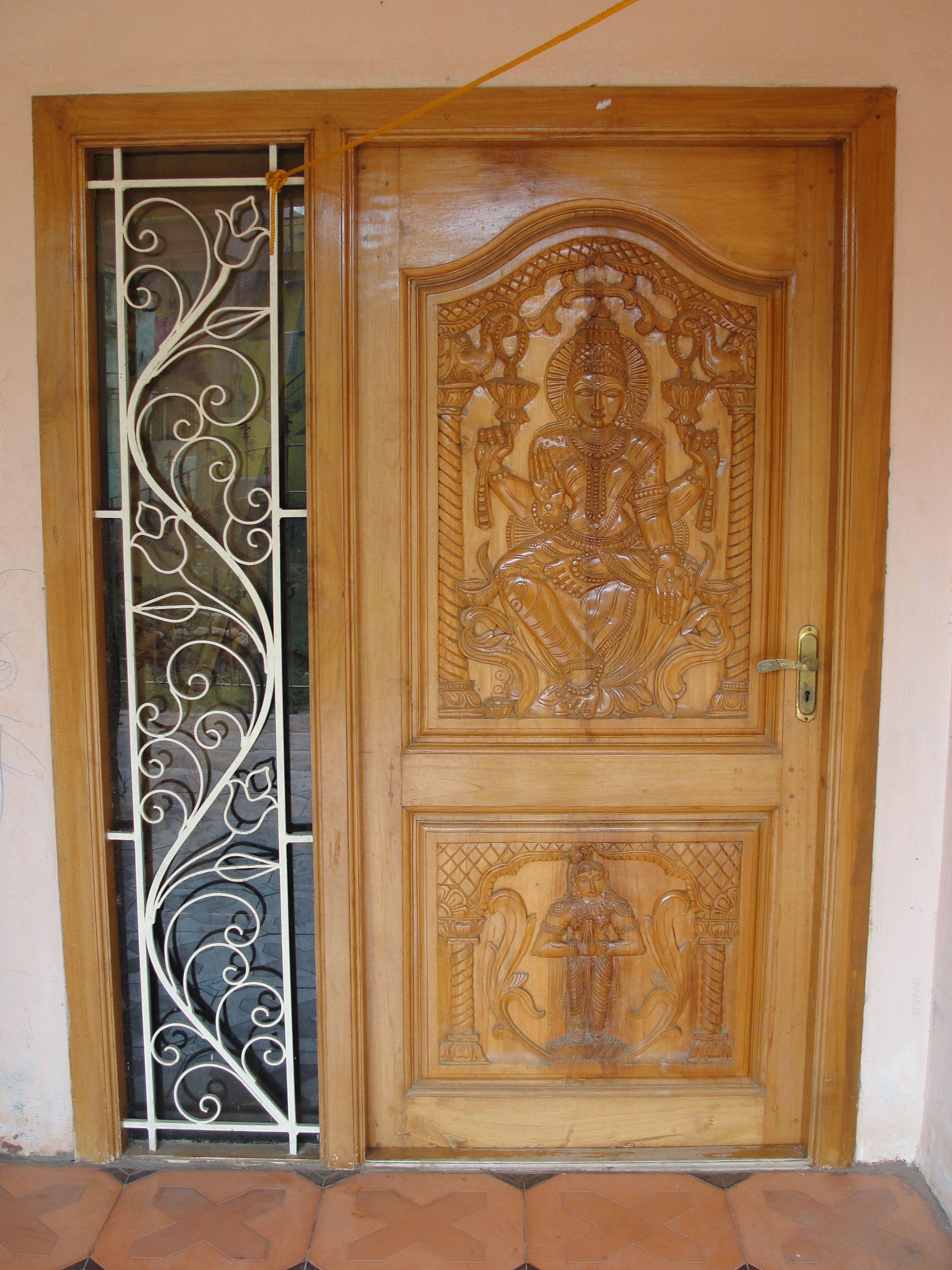 Filean Ornamental Door In Tamil Nadujpg Wikimedia Mons