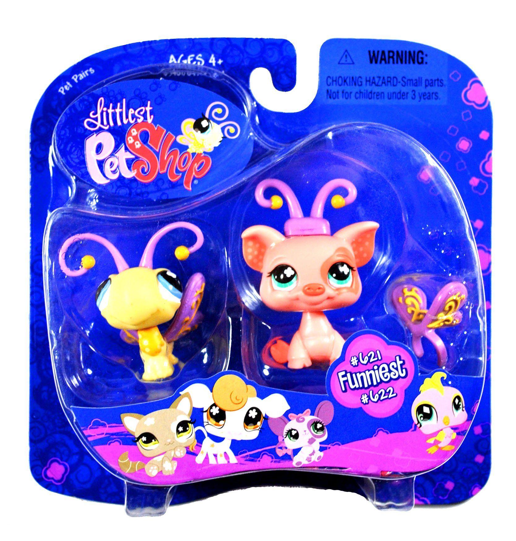 Amazon Com Littlest Pet Shop Pet Pairs Butterfly Pig Toys Games Lps Littlest Pet Shop Little Pets Little Pet Shop Toys